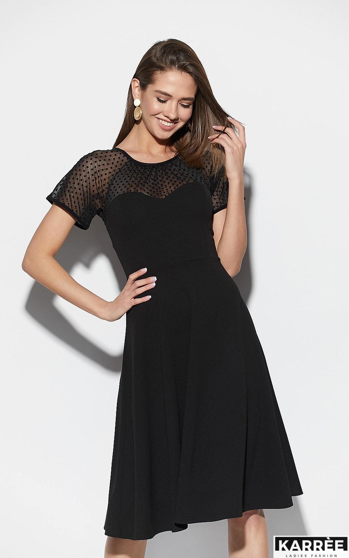 Платье Левант, Черный - фото 2