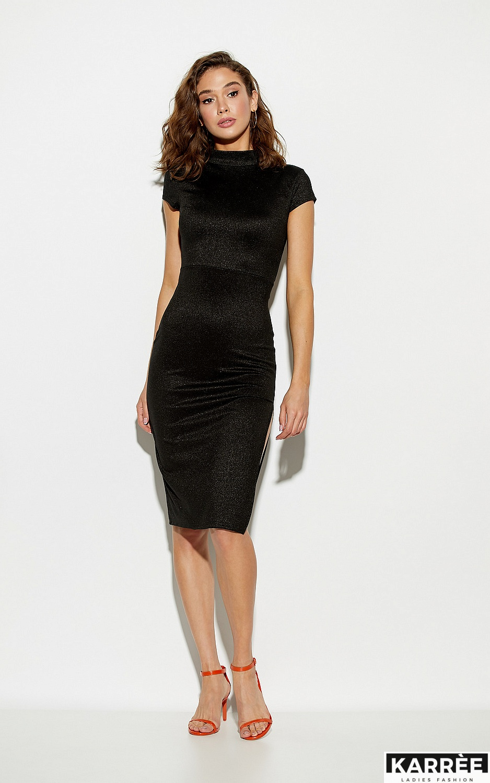 Платье Амона, Черный - фото 4