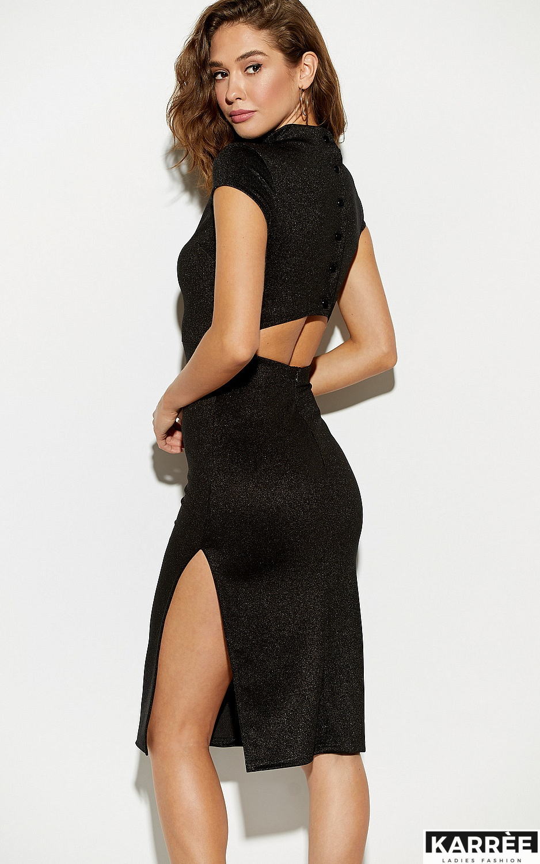 Платье Амона, Черный - фото 5