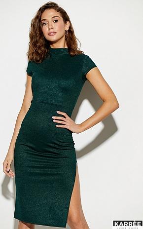 Платье Амона, Темно-зеленый - фото 1