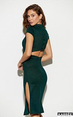 Платье Амона, Темно-зеленый