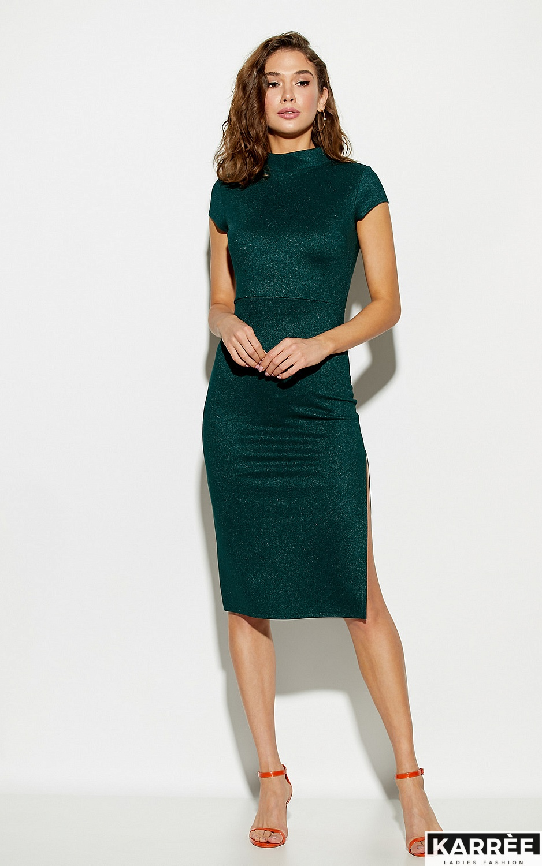 Платье Амона, Темно-зеленый - фото 3
