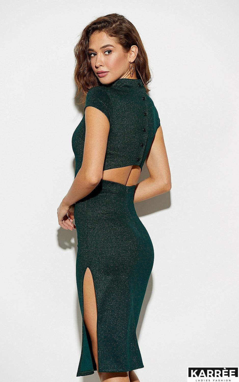 Платье Амона, Темно-зеленый - фото 2