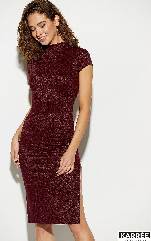 Платье Амона, Марсала - фото 2