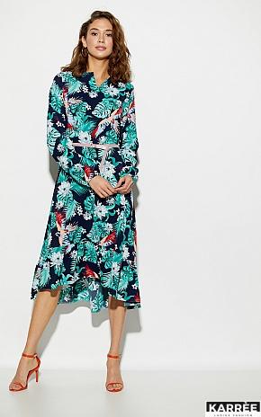 Платье Оазис, Темно-синий - фото 4