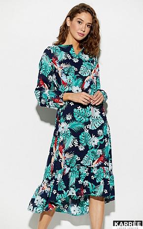 Платье Оазис, Темно-синий - фото 2
