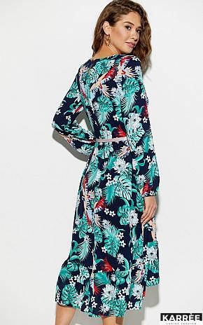Платье Оазис, Темно-синий - фото 5