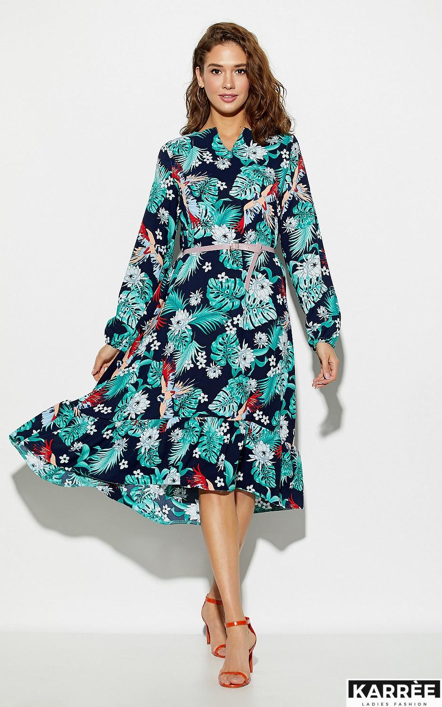 Платье Оазис, Темно-синий - фото 1