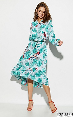 Платье Оазис, Голубой