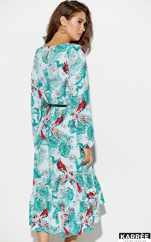 Платье Оазис, Голубой - фото 4