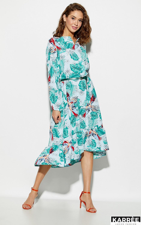 Платье Оазис, Голубой - фото 5