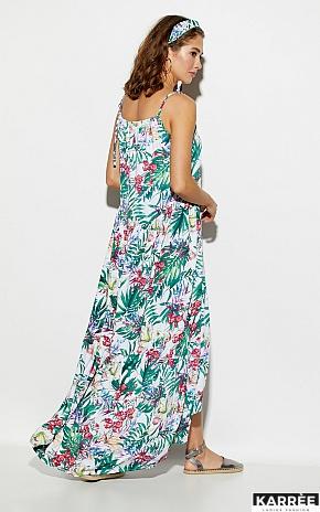 Платье Тропикано, Коралл - фото 4