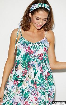 Платье Тропикано, Коралл