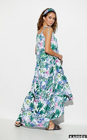 Платье Тропикано, Синий - фото 3