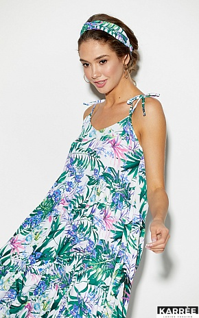 Платье Тропикано, Синий - фото 4