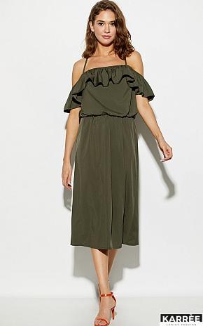 Платье Мори, Хаки - фото 1