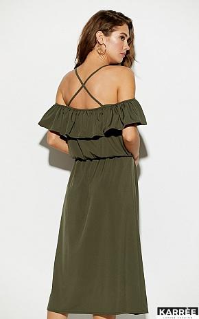 Платье Мори, Хаки - фото 3