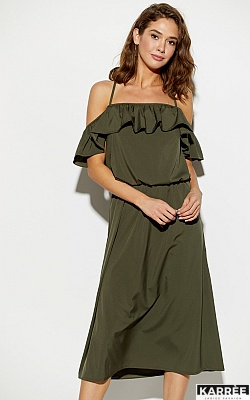 Платье Мори, Хаки