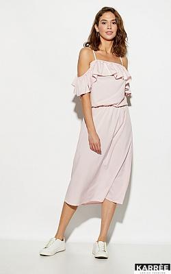 Платье Мори, Пыльно-розовый