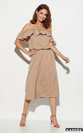Платье Мори, Темно-бежевый - фото 1