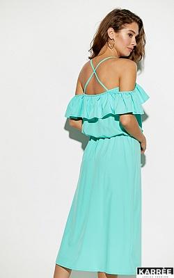 Платье Мори, Ментоловый