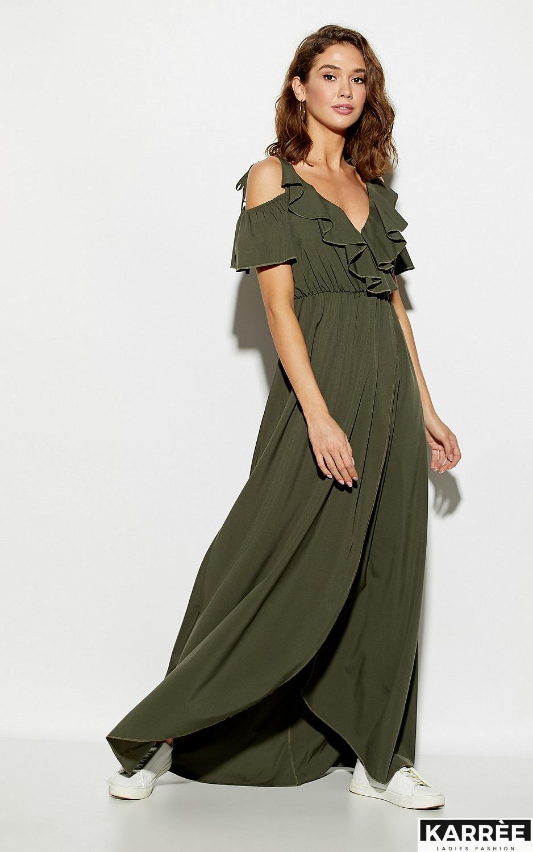 Платье Топаз, Хаки - фото 1