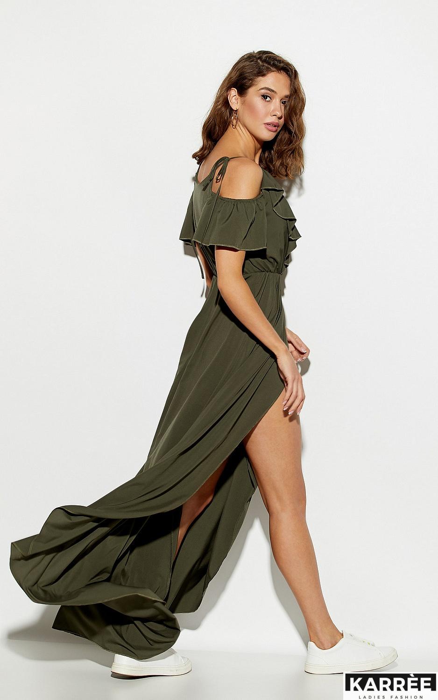 Платье Топаз, Хаки - фото 3