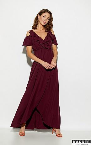 Платье Топаз, Бургунди - фото 2
