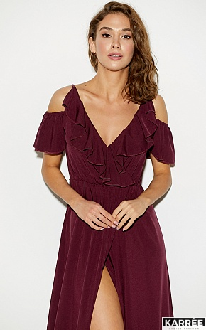 Платье Топаз, Бургунди - фото 4