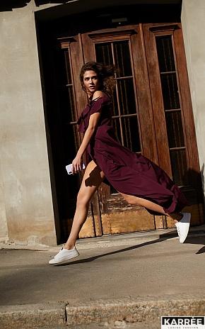 Платье Топаз, Бургунди - фото 1