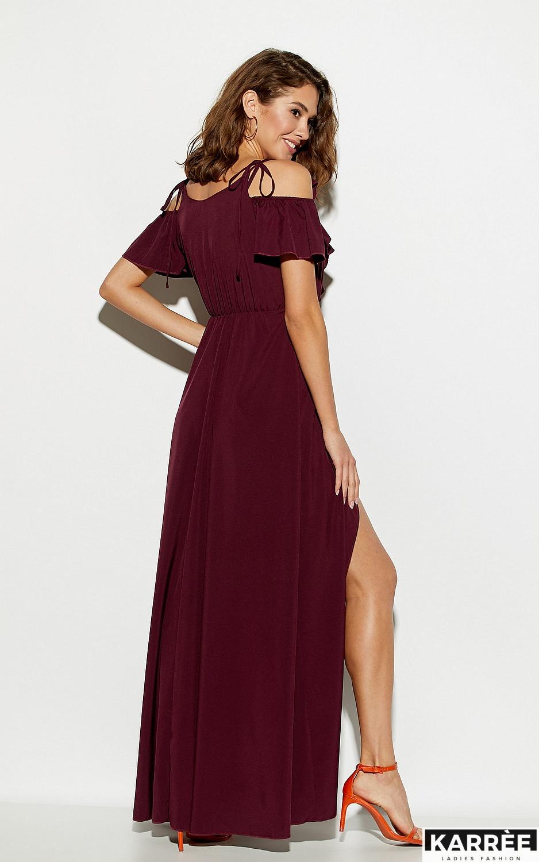 Платье Топаз, Бургунди - фото 5