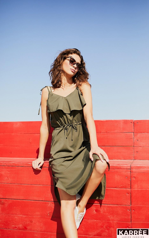 Платье Кастро, Хаки - фото 1