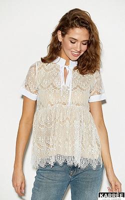 Блуза Мендес, Белый