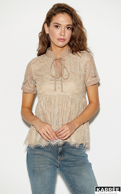 Блуза Мендес, Бежевый - фото 1