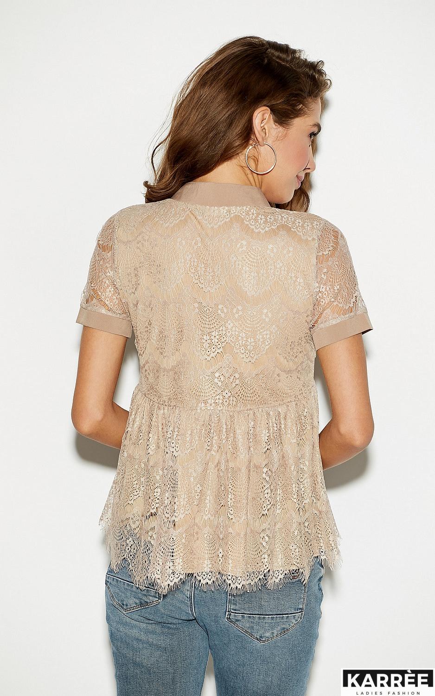Блуза Мендес, Бежевый - фото 2