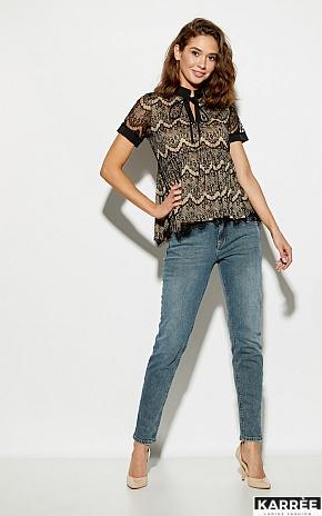 Блуза Мендес, Черный - фото 3