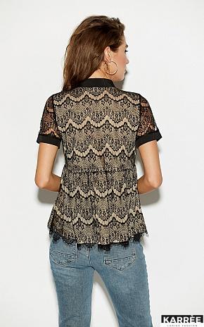 Блуза Мендес, Черный - фото 2