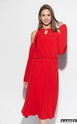 Платье Трофи, Красный