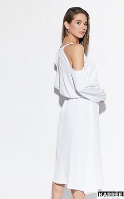 Платье Трофи, Белый