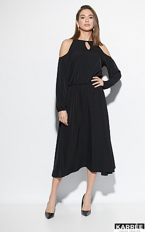 Платье Трофи, Черный - фото 1