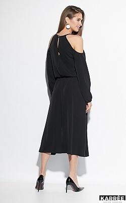 Платье Трофи, Черный