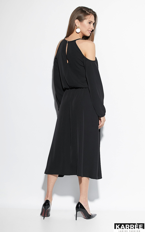 Платье Трофи, Черный - фото 2