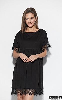 Платье Джезерит, Черный