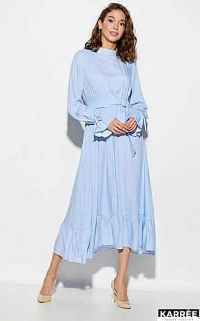 Платье Миндаль, Голубой - фото 1