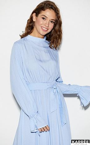 Платье Миндаль, Голубой - фото 2