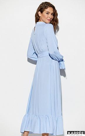 Платье Миндаль, Голубой - фото 3