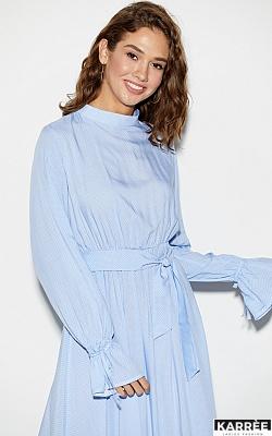 Платье Миндаль, Голубой