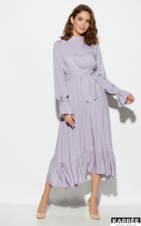 Платье Миндаль, Сиреневый - фото 3