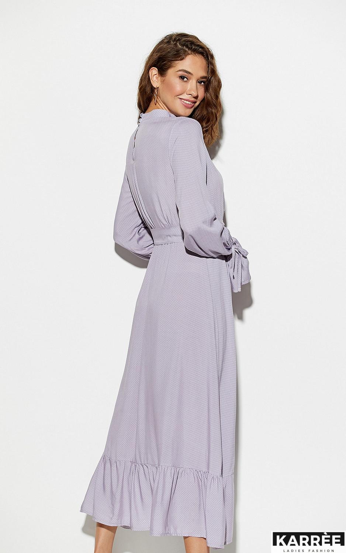 Платье Миндаль, Сиреневый - фото 5