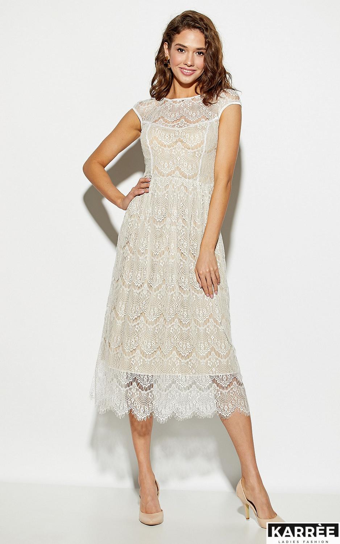 Платье Жаклин, Белый - фото 2